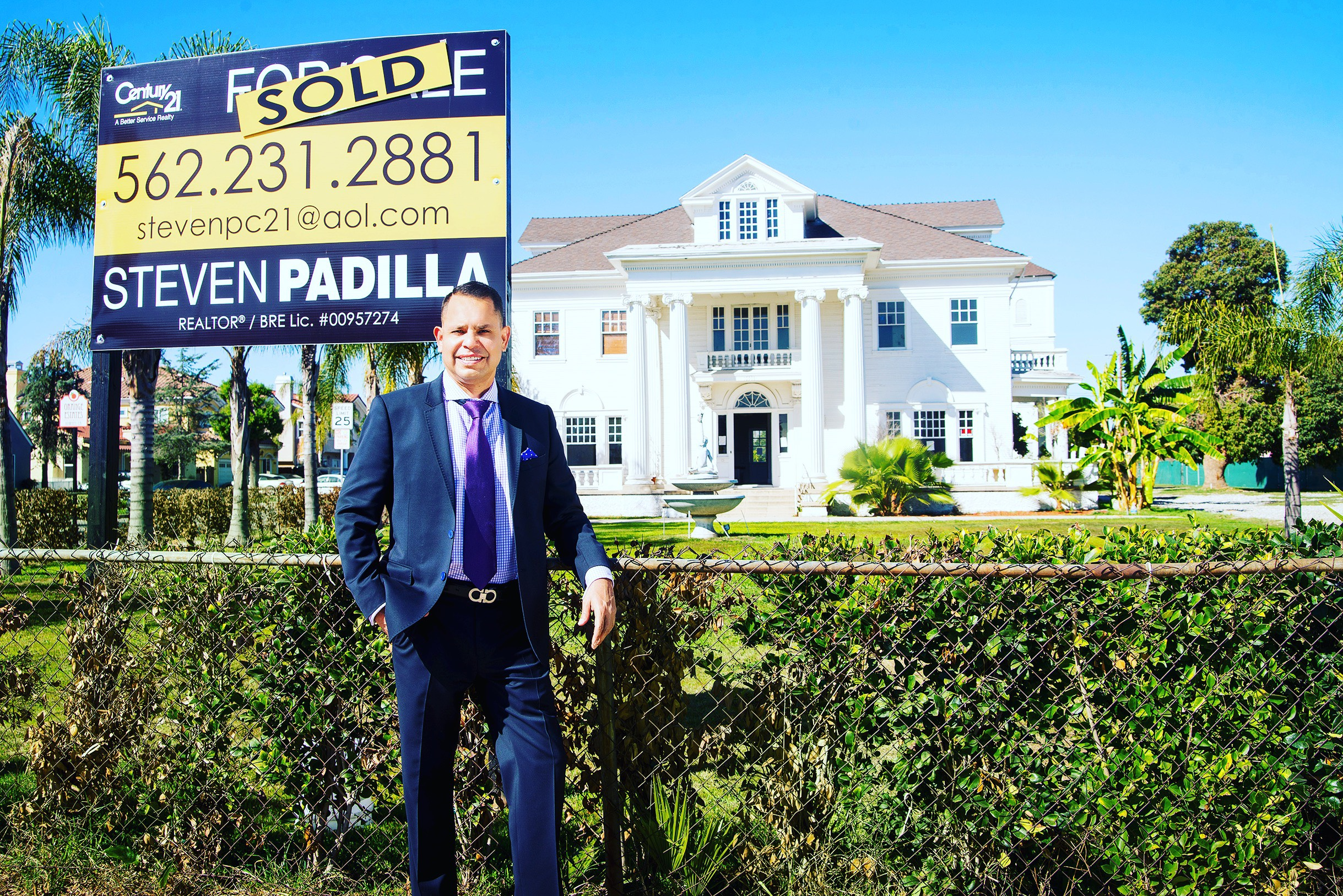 Steven Padilla, New Home page